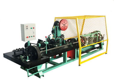 Fast Speed Fully Automatic Barbed Wire Machine Wire Diameters 1.6mm - 2.8mm